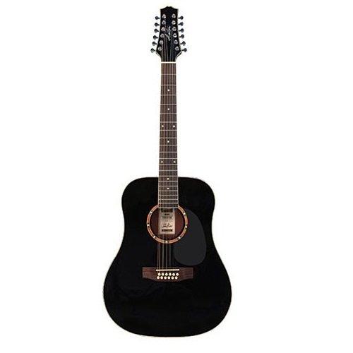 Ashton SL29CEQLTSB - Guitarra electroacústica (pastillas combinación, puente fijo, arce, para zurdos)