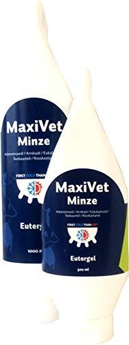 MaxiVet Minze - Eutergel (vetanimalcare®), Größe:1000 ml