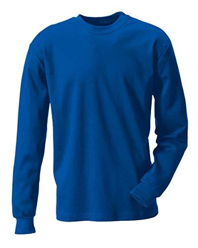 Rofa T-Shirt 133 flammhemmend antistatisch Kornblau Gr. M 603133 194 M Schweißershirts T-Shirts