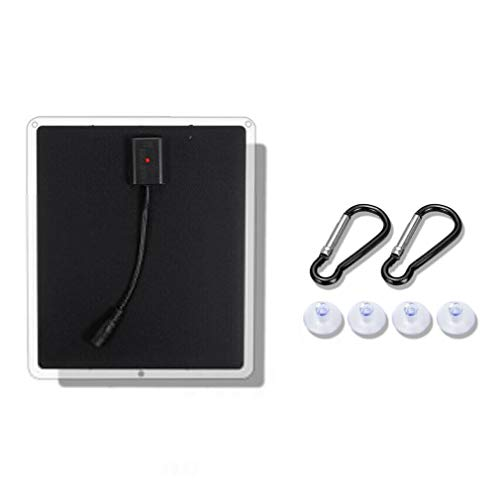 20W 12V Mono Zonnepaneel USB Acculader Powerbank Voor Mobiele Telefoon Zwart