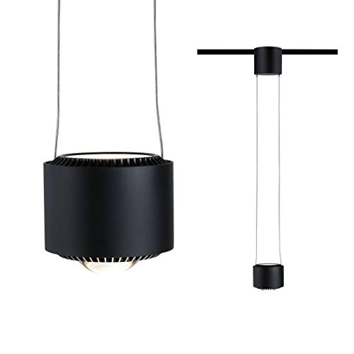 URail LED Pendel Aldan 1-flammig 1x8,5W Schwarz matt dimmbar 949.72