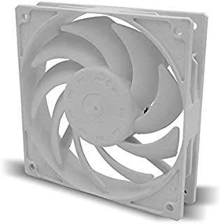 WTYD Computer Accessories F140 Computer CPU Radiator Cooling Fan (Black) Used for Computer (Color : White)