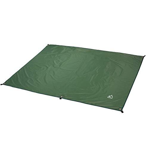 "Terra Hiker Camping Tarp, Water Proof Picnic Mat, Mutifunctional Tent Footprint with Drawstring Carrying Bag for Picnic, Hiking (Dark Green 94"" x 86"")"