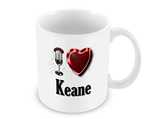 Chalkhill Printing Company CP PopBand_072 Pop Group Mok - Ik hou van Keane