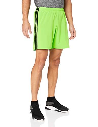 adidas Condivo 18, Pantaloncini Uomo, Verde (Semi Solar Green/Black), XS