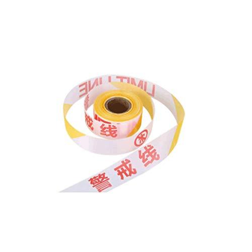 Cinta de advertencia Cinta de barrera de seguridad, cinta peligrosa y blanca amarilla y blanca roja, utilizada for la marca de piso.Cinta de calificación de seguridad industrial Controlador de multitu