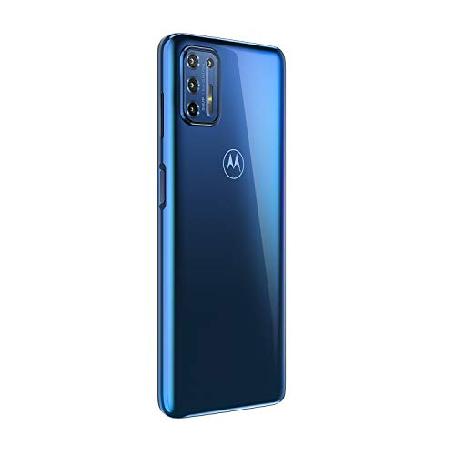 Motorola Moto G9 Plus   Unlocked   International GSM only   4/128GB   64MP Camera   2019   Blue Indigo, 169.98 x 78.1 x 9.69mm