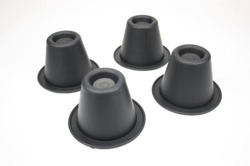 Ability Superstore - Piedini per aumentare l'altezza della sedia, forma conica, altezza circa 9 cm