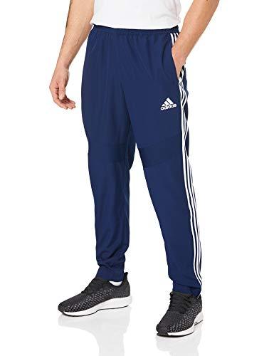 adidas Herren TIRO19 WOV PNT Sport Trousers, Dark Blue/White, M