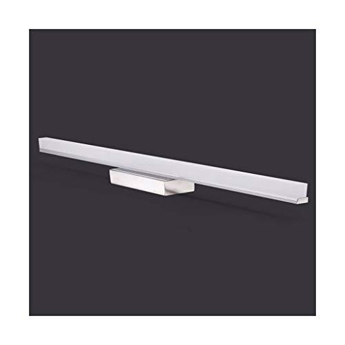 Solarl – LED-spiegelkastlicht, mistlamp, badkamerspiegel, vlak, wandlamp, make-uplamp [A +]