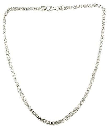 Königskette 925 Silber 3 mm 65 cm Silberkette Halskette Damen Herren Anhängerkette Schmuck ab Fabrik tendenze Italy D-BZ3-65v