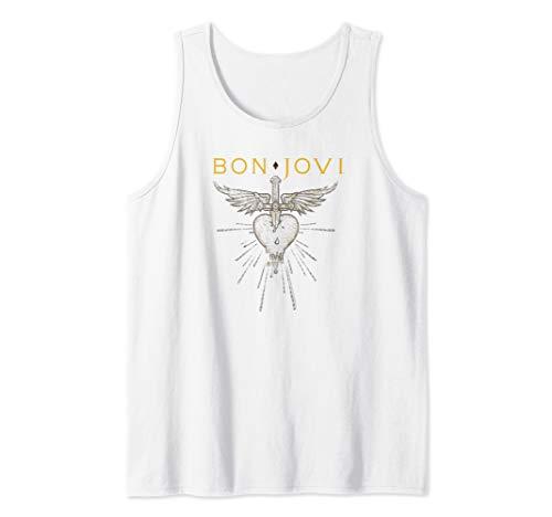 Bon Jovi Greatest Hits White or Gray Tank Top for Men, Women