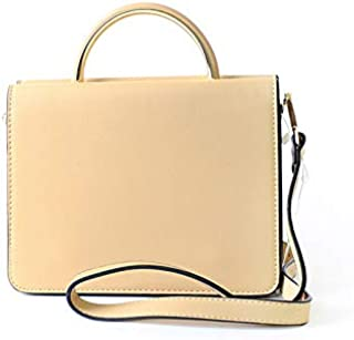 Lenz Top Handle Bag For Women, Beige, AM19-B046