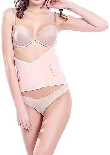 AY Postpartum Belly Wrap Hüftgürtel Binder C-Abschnitt Recovery-Bauchband, Caesarea, Unterstützung Regeneration Belly Wrap Körper Shapewear (Color : Flesh-XL)