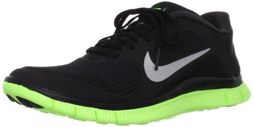 Nike Free Powerlines II LTR, Zapatillas para Hombre, Black Green, 47 EU