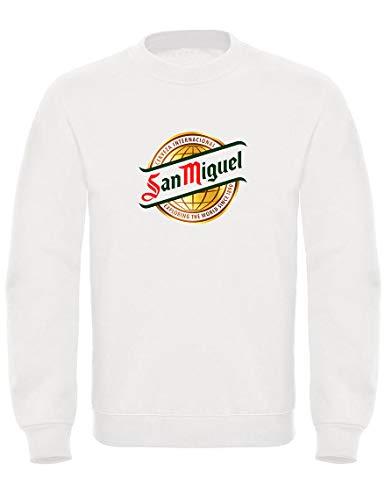 TsForYou sweatshirt met ronde hals San Miguel bier