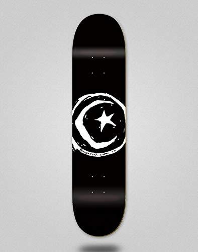 Foundation Skateboard Deck Star & Moon Black 8.38