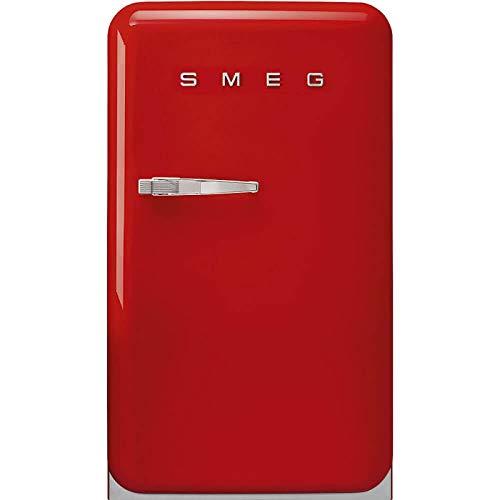 Frigorífico 1P. SMEG FAB10RRD5 Rojo 0.96m Dcha