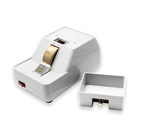 Huanyu CP-7-35WV Manuelle Optische Linse Edger Handfräsmaschine Kantenbearbeitungsmaschine Grinder Schleifmaschine Fräsmaschine, Grob & Fein & V Form Nut (220 V)