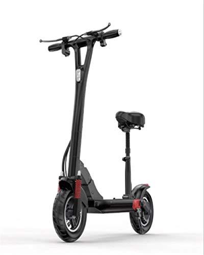 LaKoos Scooter eléctrico con Asiento, Motor eléctrico de 500 W, Rango de...