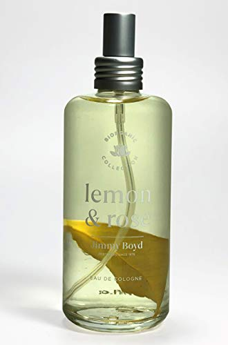 Agua de colonia -PERFUME BIORGANIC LEMON & ROSE 200ml.