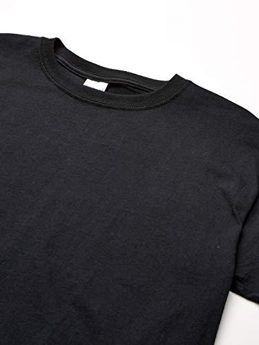 Gildan Kids' Big Ultra Cotton Youth T-Shirt, 2-Pack, Black, Large