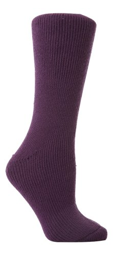 Original Heat Holders Thermal Socks - Women's Purple 4-8 uk, 37-42