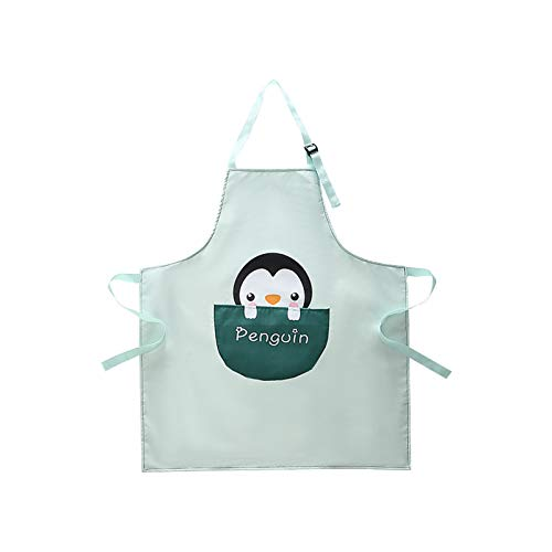 wpOP59NE Apron for Women Men Chef BBQ Cooking Kitchen Aprons Kitchen Cooking Baking Sleeveless Adjustable Oil-Proof Waterproof Grid Apron 3