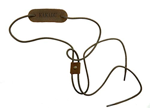 Kakadu Traders Hutfangband Chinstrap Schnur-Kinnriemen mit Schieber