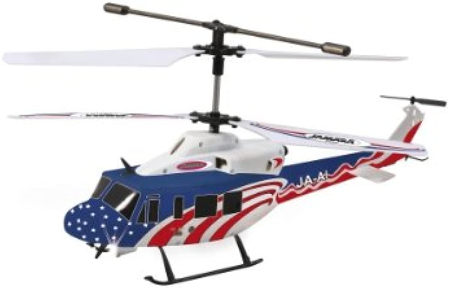 Jamara 37100 Twin Huey Big 3+2 Channel Helicopter, Multi color