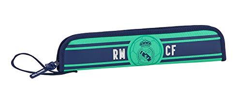 Safta Portaflautas de Real Madrid, 370x20x80mm, Multicolor (R. Madrid 19/20)