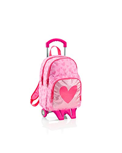 Agatha Ruiz de la Prada Miquelrius Lurex Kinder-Rucksack, 54 cm, 23 liters, Pink (Rosa)
