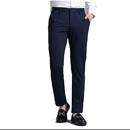 Pantalón cargo ocasional sobreviviente de los homb Pantalones casuales de negocios para hombres Pantalones casuales Slim Fit Slimming Strimming Pantalones pequeños Pantalones casuales Estirar pantalón