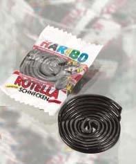 1x Haribo ROTELLA SCHNECKEN - Süßigkeiten, Nahrungsmittel