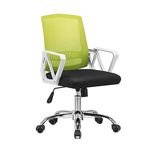 N&O Renovation House Chair Bürostuhl Hochdrehbarer Computerstuhl Faltbarer Netzsitz mit freier Funktion für Studentenwohnheim im Büro Nenntragfähigkeit: 150 kg