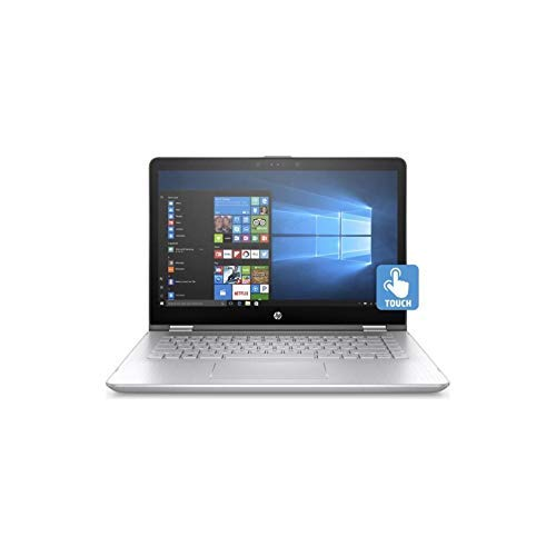 HP Pavilion x360 14-dh0525sa Core i5-8265U 8GB RAM 256GB SSD 14 inches Touch screen 1920 x 1080 Windows 10 Convertible Laptop (6TC65EA#ABU) (Renewed)