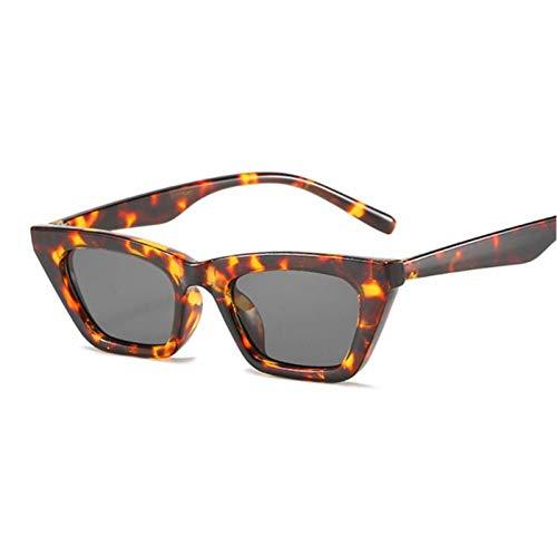 FRGH Gafas De Sol Negras Vintage para Mujer, Gafas De Sol con Puntos Retro, Gafas De Sol Superstar para Mujer, Ojo De Gato