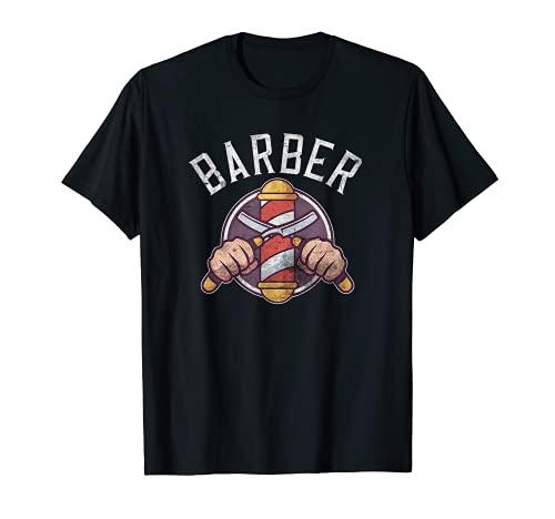 Regalos hipster de barbería Camiseta