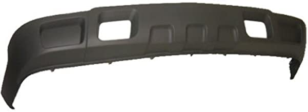 OE Replacement Chevrolet Silverado Front Bumper Deflector (Partslink Number GM1092174)