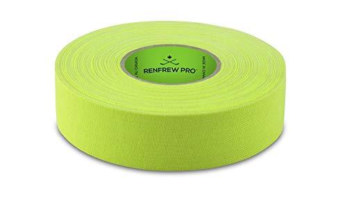 Renfrew PRO Schlägertape 24mm x 25m NEON GELB - Eishockey - Inlinehockey - Hockey - Tape