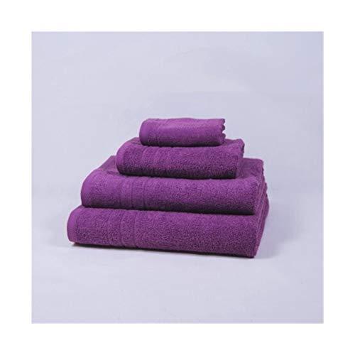 WENSHENG Juego Toallas baño Púrpura Toalla Baño Hecha De 100% Algodón, Toallas Set (Size : Bathroom)