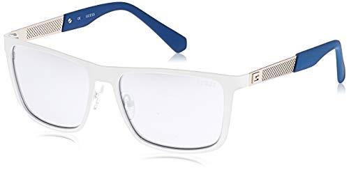 Guess Sonnenbrille Gu 6842 21C-57-16-140 Gafas de sol, Blanco (Weiß), 57.0 para Mujer