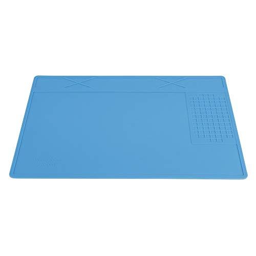 Almohadilla de silicona, resistente al calor hasta 500? Repare el tapete de la estación del silicón del aislamiento del escritorio del cojín del mantenimiento para la reparación del teléfono