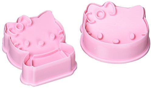 DeColorDulce Hello Kitty Cortadores y marcadores Galleta ABS, Plateado, 25x10x3 cm