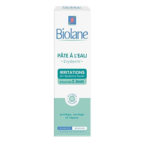 Biolane - Pâte à l'eau Eryderm - Irritation rougeurs de l'épiderme fessier de bébé - 75 ml