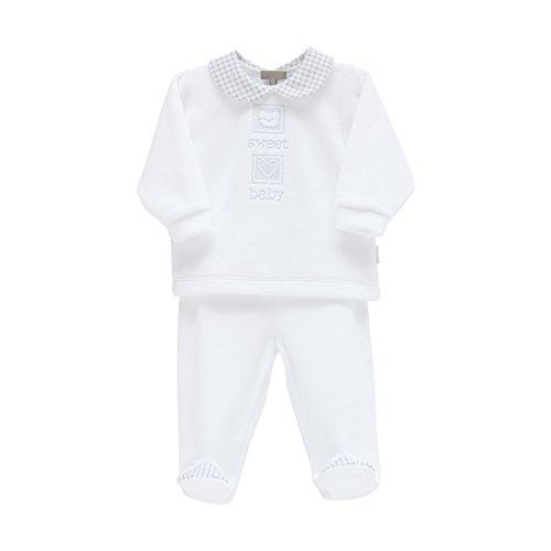 Cambrass 35260 Pelele, Bebé-Niños, Azul (Celeste 2), Recién Nacido (Tamaño del fabricante:0)