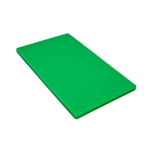 Gastro Spirit Schneidebrett grün Kunststoff groß ca. 60 x 40 x 2 cm HACCP Gastro Qualität