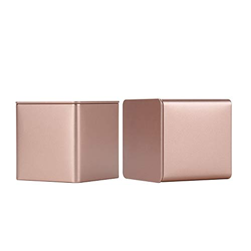 Tianhui Colorful Square Tin Can Empty Cube Steel Box Storage Container for...