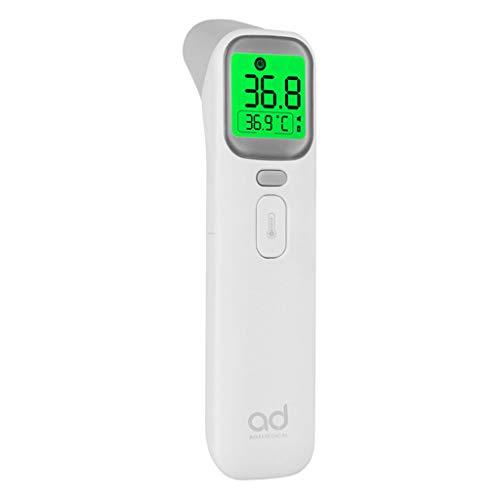Covermason Hochpräzises Kontaktlos Stirn- und Ohr-Thermo-Meter Fieber-Thermo Meter für Baby Erwachsene Temperaturmessung (Weiß)