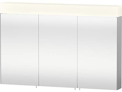 Duravit Spiegelschrank Vero 142x1200x800mm 3 Spiegeltüren, LED Modul, verspiegelt, VE750400000